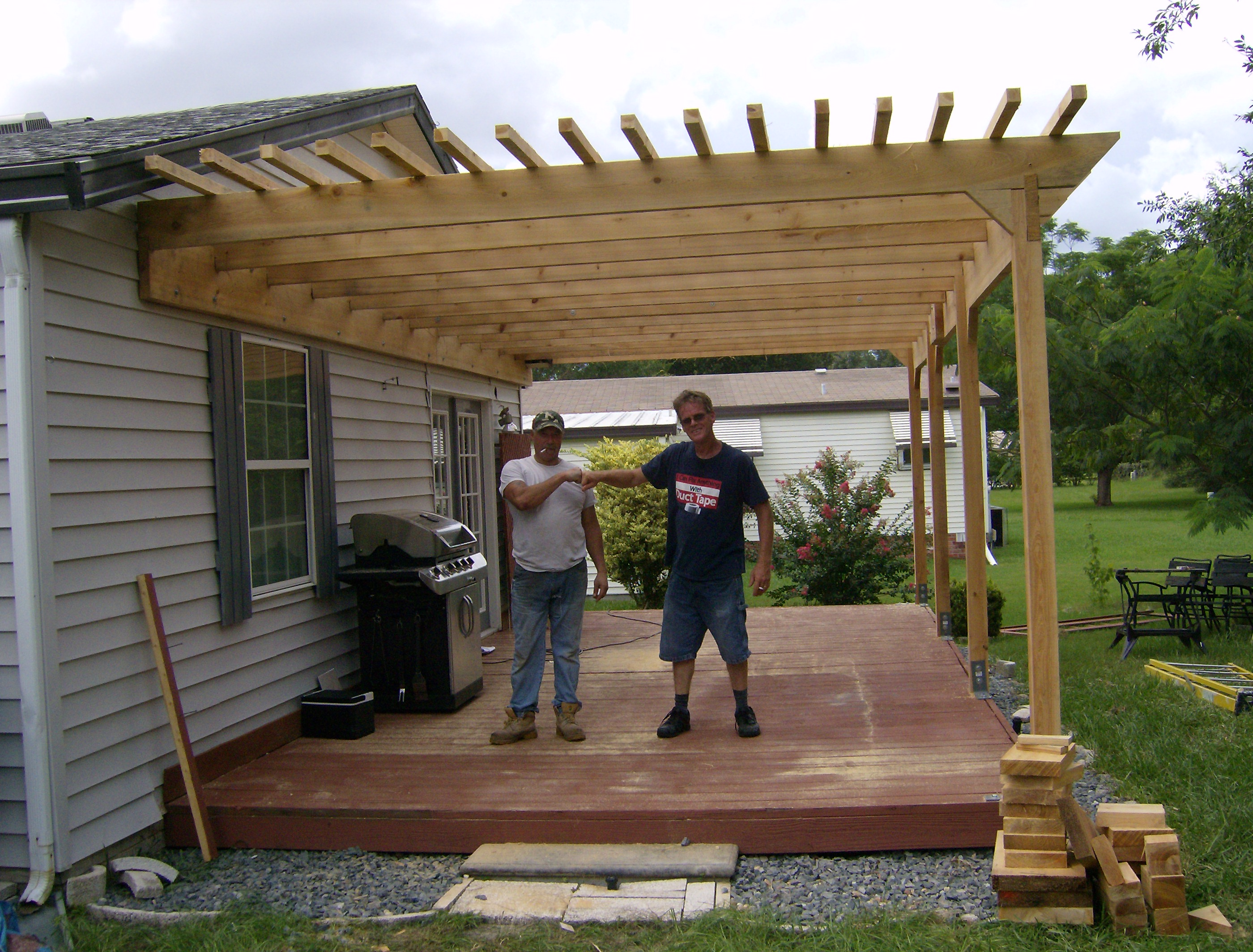 100+ [ How Build Pergola ] | How To Build An Arbor With A Bench ...