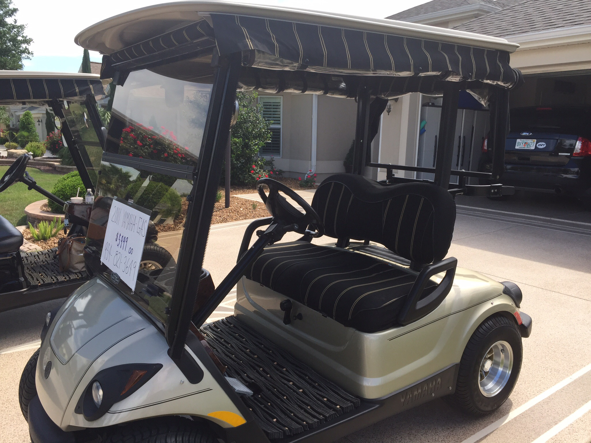 Golf cart service the villages talk of the villages 2011 for Yamaha golf cart dealers in florida
