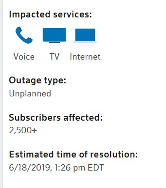 Comcast Outage - Talk of The Villages Florida