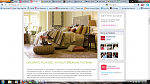 My daughter on Home goods page