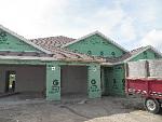 House being built -- 9/3 -- week 3