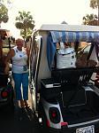 crispers 37    Shrandell (Sandra) and her cart, Lucy