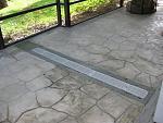 Lanai drainage solution