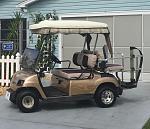 2002 Yamaha 4 seater Gas Golf Cart $2100