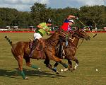 Some action from a Villages polo game.